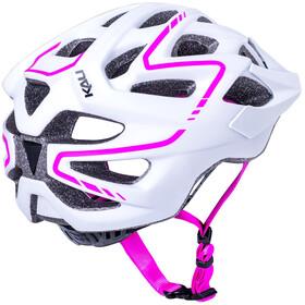 Kali Chakra Plus Casco, matte white/pink